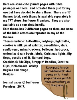 Journal Pages - Flip flops
