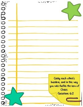 Journal Pages - Stars
