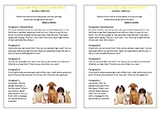 Journal Plan - A Day in the Life of My Pet