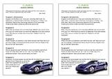 Journal Plan - Cars