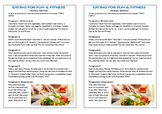 Journal Plan - Food for Fun and Fitness