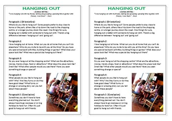 Journal Plan - Hanging Out