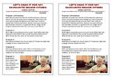Journal Plan - My Favourite Senior Citizen