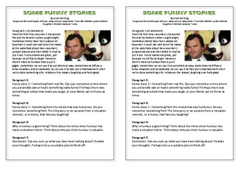 Journal Plan - Some Funny Stories