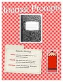 Journal Prompt Ideas