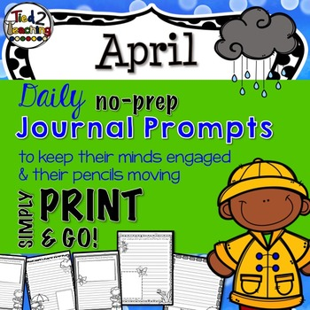 Journal Prompts - April