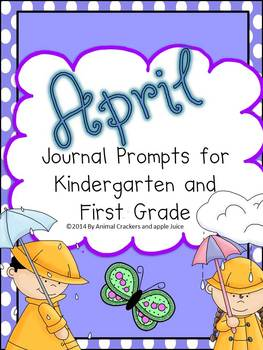 Journal Prompts: April Set