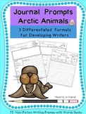 Journal Prompts Arctic Animals For Primary(K-3)