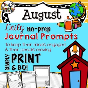 Journal Prompts - August