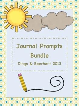Journal Prompts - Bundle - Intermediate Grade Level - {180 Printable Prompts}