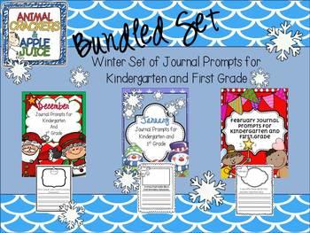 Journal Prompts: Bundled Set for Winter