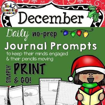 Journal Prompts - December
