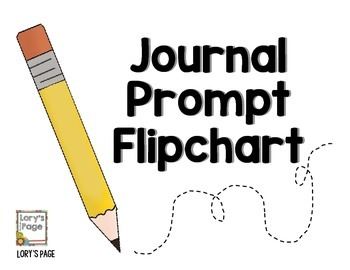 Journal Prompts - Flipchart