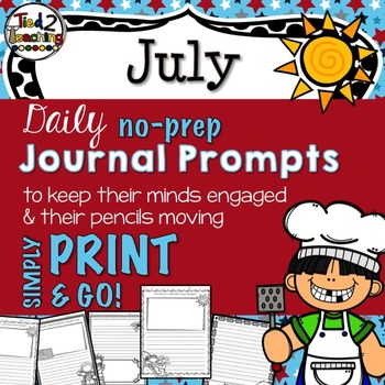 Journal Prompts - July