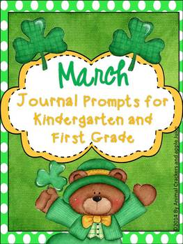 Journal Prompts: March Set