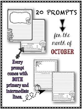 Journal Prompts - October