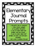 Journal Prompts- Over 50 Daily Prompts for Morning Work