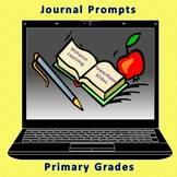 Journal Prompts-Primary Grades-Distance Learning