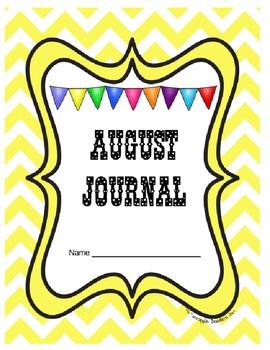 Journal Prompts Printable Notebook Aug Sept Oct Nov Dec CC
