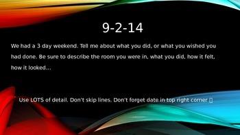 Journal Prompts: September