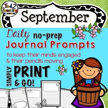 Journal Prompts - September