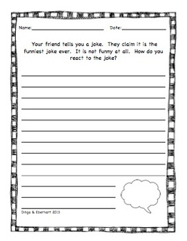 Journal Prompts - Set Two - Intermediate Grade Level - {45 Printable Prompts}