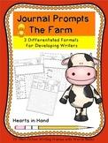 Journal Prompts The Farm (K-3)