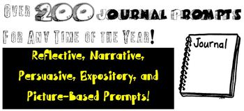 Journal Prompts & Topics for a Year