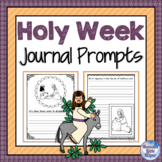 Catholic Holy Week and Easter Journal Prompts for Lent