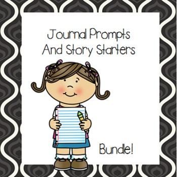 Journal Prompts and Story Starters- Bundle