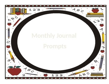 Journal Prompts by Month - One for every day!