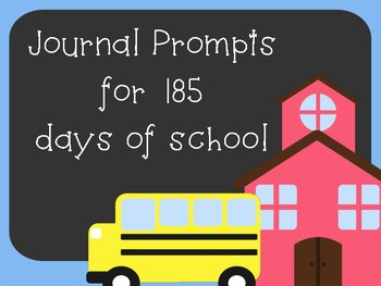 Journal Prompts for 185 Days