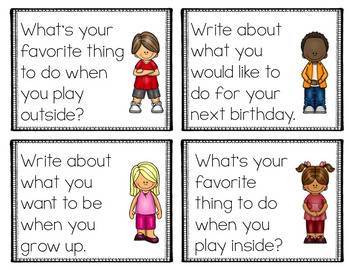 Journal Prompts for 2nd Grade