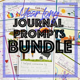 Journal Prompts for Daily Writing - Year Long Handwriting Growing Bundle