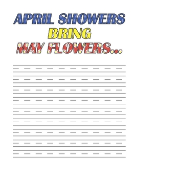 Journal Prompts for Elementary - April