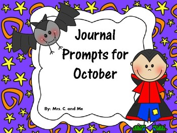 Journal Prompts for October