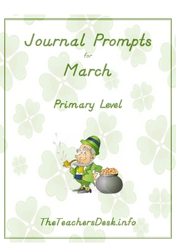Journal Prompts for Primary - March