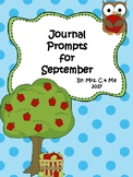 Journal Prompts for September