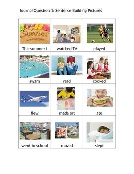 Journal Questions Picture Set 1- Questions 1-11