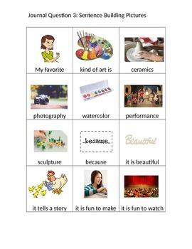 Journal Questions Picture Set 2- Questions 12-26