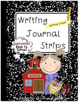 Journal Strips- Back to School (September)