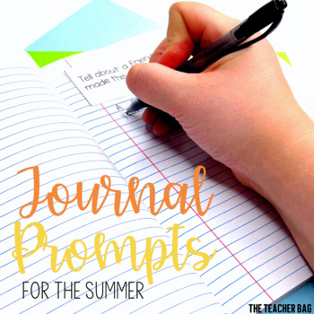 Summer Journal Prompts