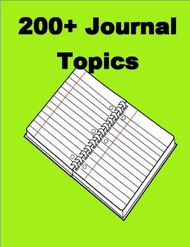 Journal Topics 200+