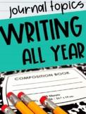 Journal Writing Topics All Year (Printable and Digital Options)