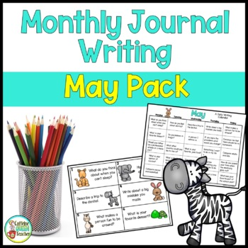 Daily Journal Writing Prompts and Papers for May