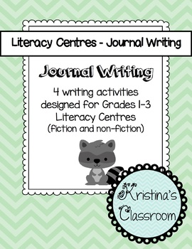 Journal Writing Activities for Primary Literacy Centres