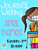 Journal Writing {April Edition}