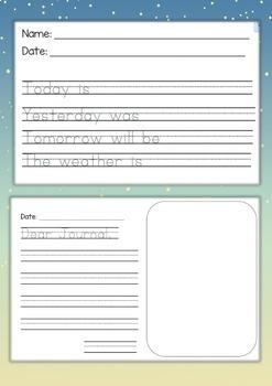 Journal Writing For Kindergarten