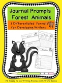 Journal Writing Forest Animals For Primary (K-3)