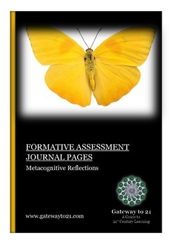 Journal Writing Metacognitive Reflections (Formative Assessment)